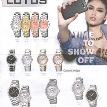 Loeters Juwelen - Uurwerken - Lotus